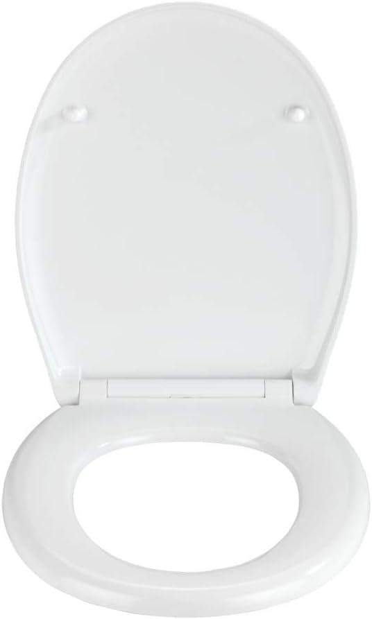 Abattant WC avec syst/ème dabaissement automatique 300 KG capacit/é de charge 37 x 44.5 cm Duroplast WENKO 23578100 Premium abattant Boh/ème Multicolore
