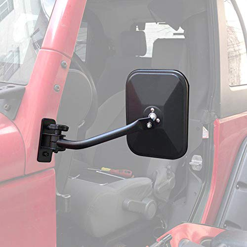 Fits Jeep Wrangler Doors Off Mirrors Quick Release