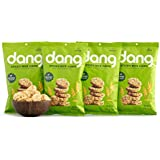 Dang Snackable Rice Cakes, Coconut Crunch, Gluten Free, Non-GMO, 3.5 Ounce Bags, 4 Count