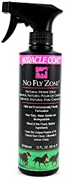 Miracle Coat No Fly Zone for Horses, 12 oz.