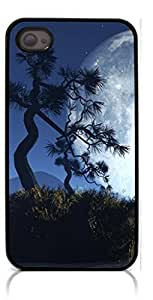 HeartCase Hard Case for Iphone 4 4G 4S ( Moon Night )