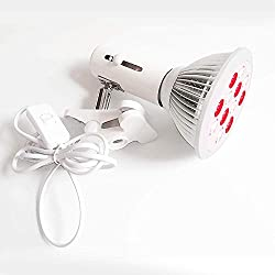 Red Light Therapy Device UL Certified 660nm Near Infrared and 850nm Infrared Led phototherapy Bulb for Skin and Pain Relief AC85-277V 36W
