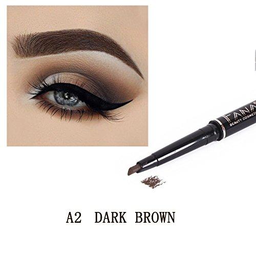 Luxsea Beauty Makeup Eye Brow Pen Liner Waterproof Long Lasting Eyebrow Pencil 4 Colors -