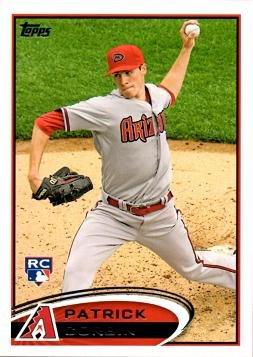 2012 Topps Update Baseball #US16 Patrick Corbin Rookie Card