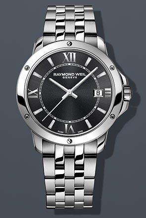 Raymond Weil Tango Gray Dial Stainless Steel Mens Watch ()