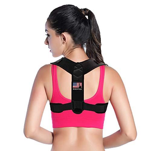 Best Back Posture Corrector for Men and Women -Adjustable Back Straightener- Upper Back Brace for Clavicle Support and Protecting Pain from Neck, Back & Shoulder -Posture Brace Provide Back Support