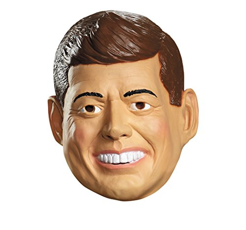 Disguise Costumes Kennedy Deluxe Mask, Adult -