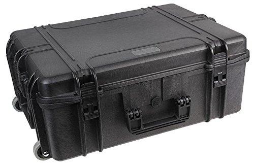 Duratool Waterproof Case, With Wheels, 22'' Water Resistant Case, 560x355x230mm 22'' Water Resistant Case