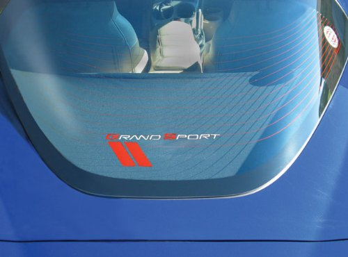 Corvette Rear Cargo Shade : Grand Sport