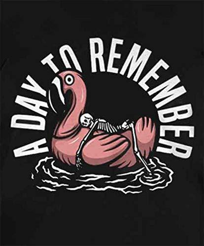 Officiel Shirt Day Nouveau Homme Band Remember A Noir Flamingo Logo T To wz6IIdxq1