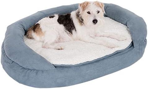 Cama para perro de espuma viscoelástica, color gris, transpirable, ortopédica con funda extraíble y lavable, ideal para perros mayores o perros deportivos: Amazon.es: Productos para mascotas