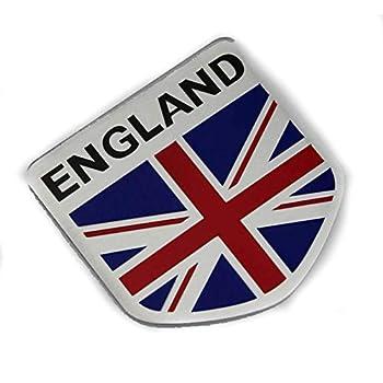 England UK Britain Gray flag Badge AR DOOR BUMPER STRIP Decal Emblem Sticker