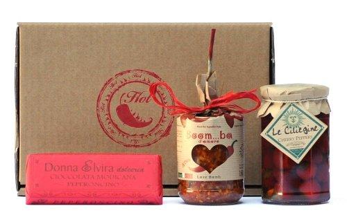 HOT & SPICY HAMPER n?2 Gourmet Gift Set (