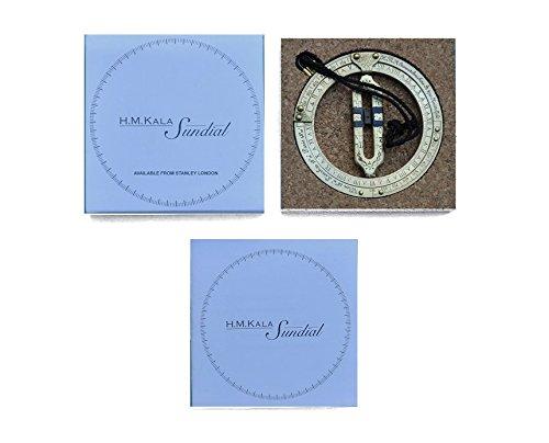 Stanley Sundial (Kala Sunwatch Brass Pocket Sundial)