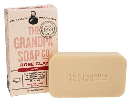 Grandpa Soap Co. Grandpa's Bar Soaps Rose Clay 4.25 oz