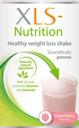 XLS-Nutrition Weight Loss Meal Replacement Shake – Weight Control Diet Supplement – 400g, Strawberry Flavour, 10…