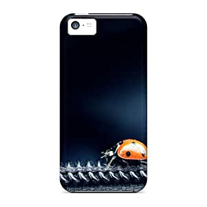 Faddish Phone Ladybug Cases For Iphone 5c / Perfect Cases Covers