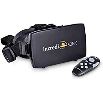 IncrediSonic VR Headset + Remote Control