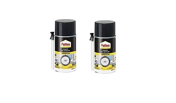 2 x Pattex Power Reparación de espuma de poliuretano 300 ml: Amazon.es: Bricolaje y herramientas