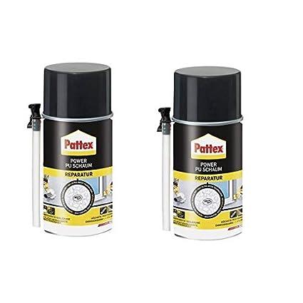 2 x Pattex Power Reparación de espuma de poliuretano 300 ml