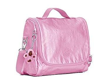 011ab1fc7 Lancheira Escolar Kipling Pink Metallic Rosa: Amazon.com.br ...