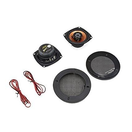 eDealMax Par 5 pulgadas de diámetro estéreo 100W 2-Way Car Audio Altavoces coaxiales Sistema