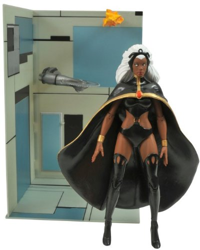 [Diamond Select Toys Marvel Select X-Men: Storm Action Figure] (X-men Gambit Costume Ideas)