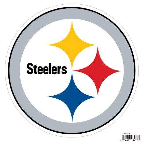 Siskiyou NFL Pittsburgh Steelers Automotive Magnet, 8-Inch