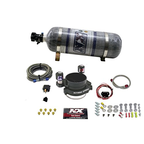 Ls1 Nitrous Kit (Nitrous Express 20110-12 One Piece MAF System with 12 lbs. Composite Bottle for GM LS-1 and LS-2 Engines)