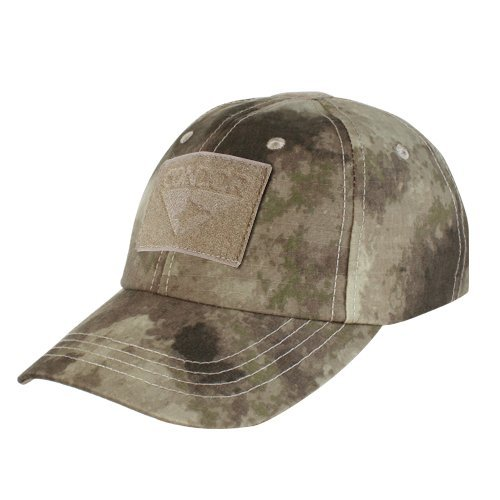 Camo Hunting Cap - Condor Tactical Cap (A-Tacs, One Size Fits All)