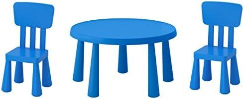 B2C IKEA Mammut - Mesa Infantil, Color Azul y Azul: Amazon.es: Hogar