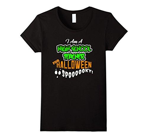 Diy Pirate Costume (Womens High School Teacher DIY Cheap Halloween Costume Supplies Large Black)