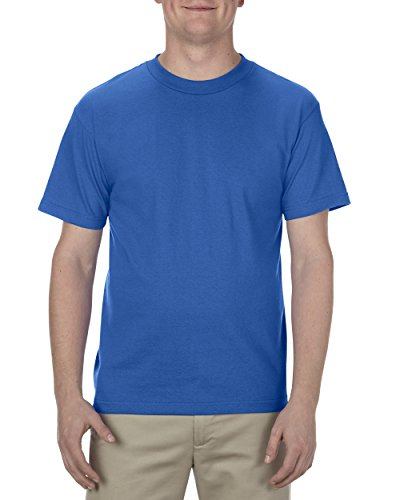 - Alstyle Apparel AAA Men's Classic T-Shirt, Royal Blue, 4XL