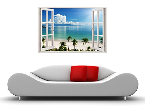 Removable Wall Decals Huge Vinyl Mural 3d Window View Stickers Large Nature Poster 33 5 X