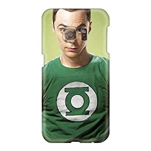 Protector Hard Phone Cases For Samsung Galaxy S6 (xJF894LqrW) Support Personal Customs HD Big Bang Theory Sheldon Image