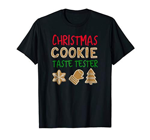 Christmas Cookie Taste Tester Shirt Matching Holiday Tshirts