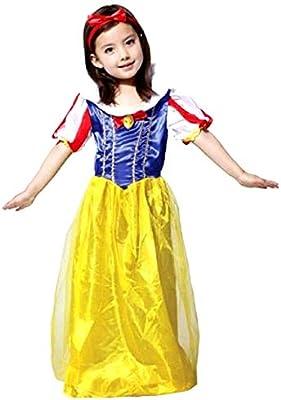 Disfraz - princesa blanca como la nieve y los siete enanitos ...
