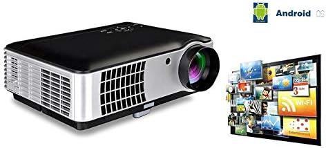 HD 1080P Proyector de cine en casa compatible, 2800 lúmenes Full ...