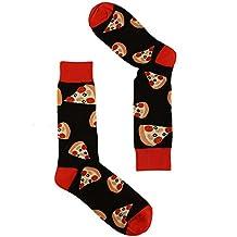 Men's Everday Novelty Fast Foods Comfort Foods Trouser Dressy Casual Comfy Socks