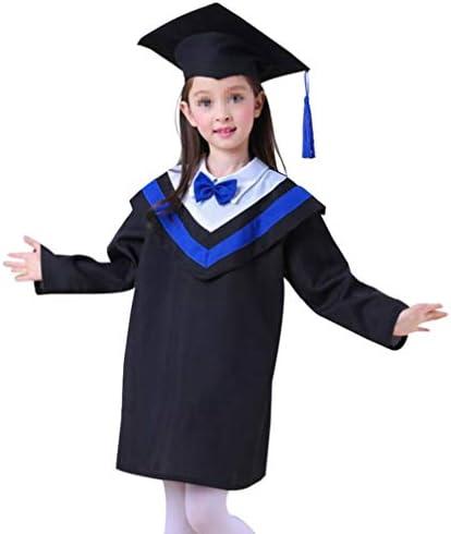 Kesyoo الأطفال قبعة التخرج مع شرابة 2020 سحر لمرحلة ما قبل المدرسة روضة الأطفال 110 سم Amazon Ae