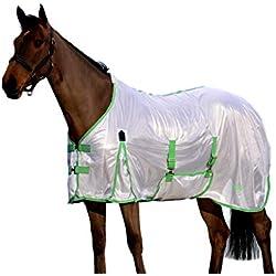 Saxon Mesh Gusset Belly Wrap Fly Sheet 81 White/Mi