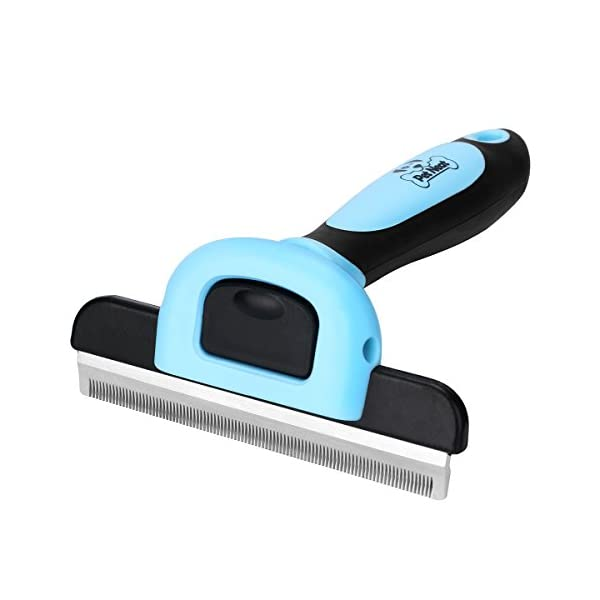 Pet Grooming Brush Effectively Reduces Shedding Byup to 95% Professional Deshedding Tool for Dogs & Cats 1