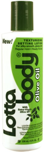 Lottabody Olive Oil Texturizing Setting Lotion 8 Oz