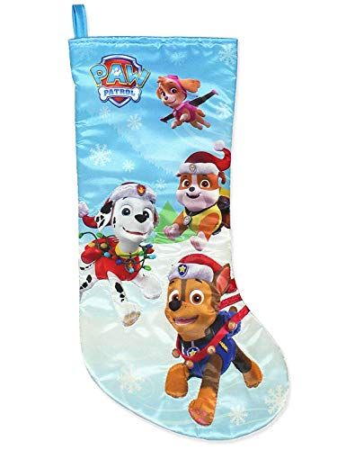 Kurt Adler Paw Patrol Printed Satin Stocking, 19-Inch