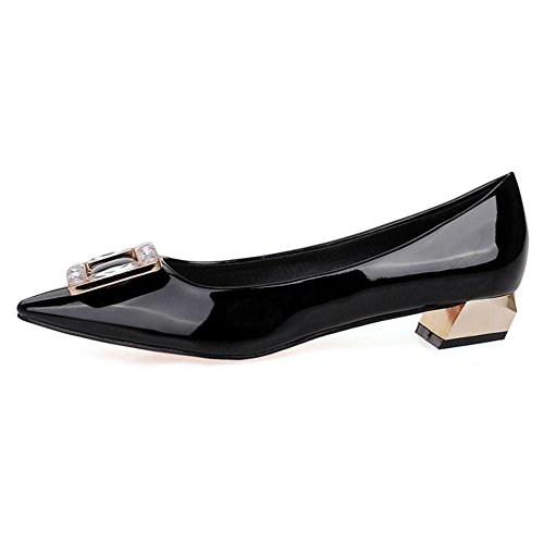 Heel AicciAizzi Pumps Low Fashion Women Black wq6rqSIx
