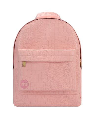 Mi-Pac Women's Mini Matt Crock Backpack In Pink Pink by Mi-Pac