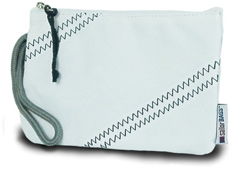 Sailor Bags Wristlet, One Size, White/Blue by SailorBags