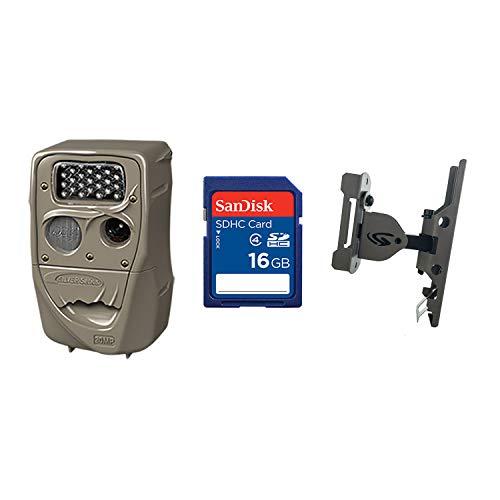 Cuddeback 20MP Black Flash Trail Camera + 16GB SD Card + Game Camera Mount Cuddeback Digital Scouting Camera