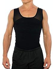 Esteem Apparel Original Men's Chest Compression Shirt to Hide Gynecomastia Moobs …
