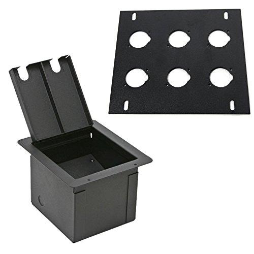 Elite Core Recessed Audio Stage Floor Box